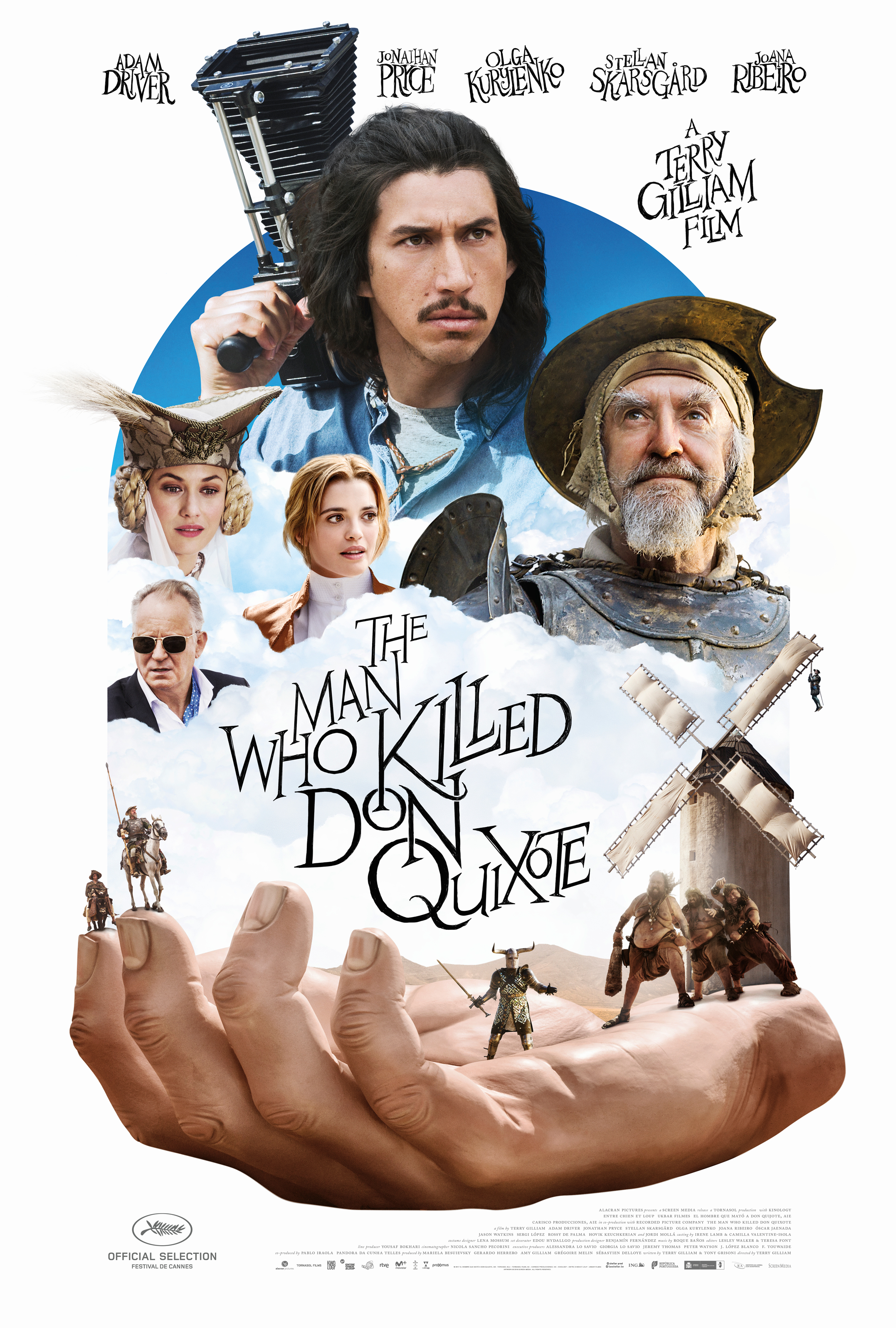 The Man Who Killed Don Quixote kapak