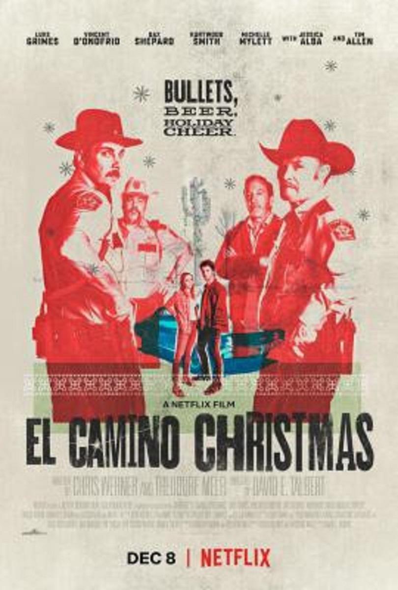 El Camino Christmas kapak