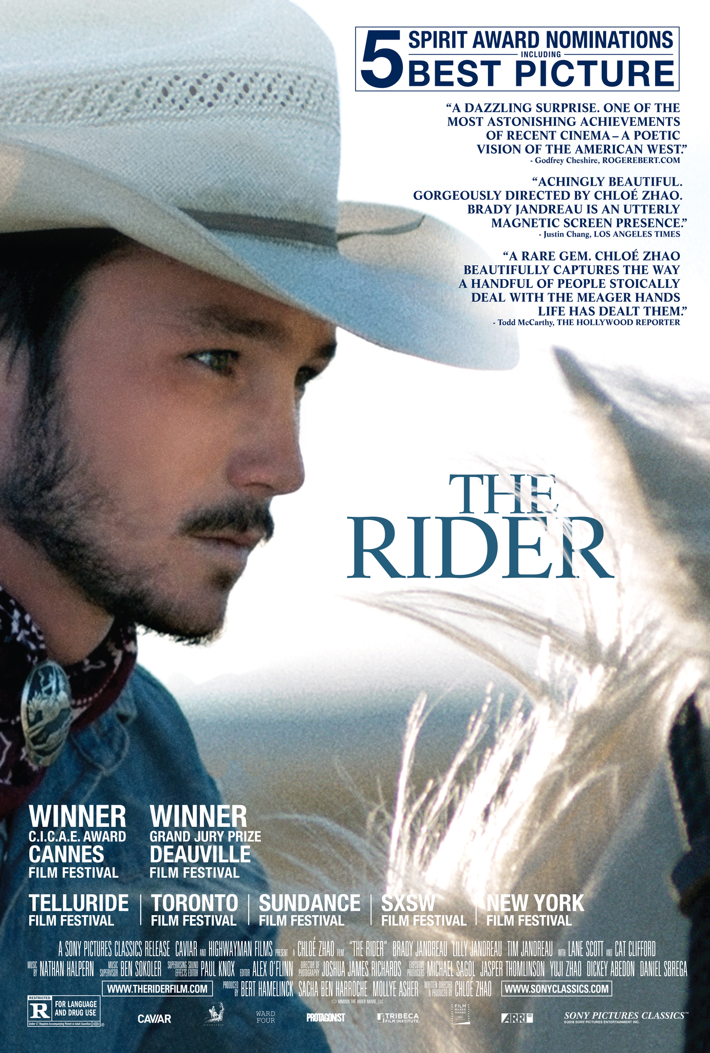 The Rider kapak