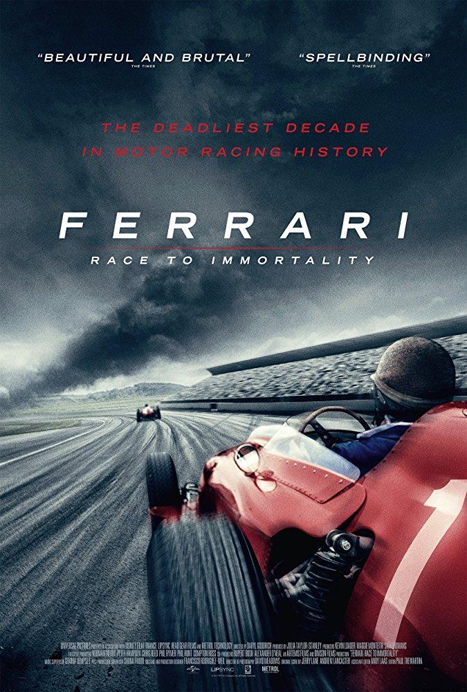 Ferrari: Race to Immortality kapak
