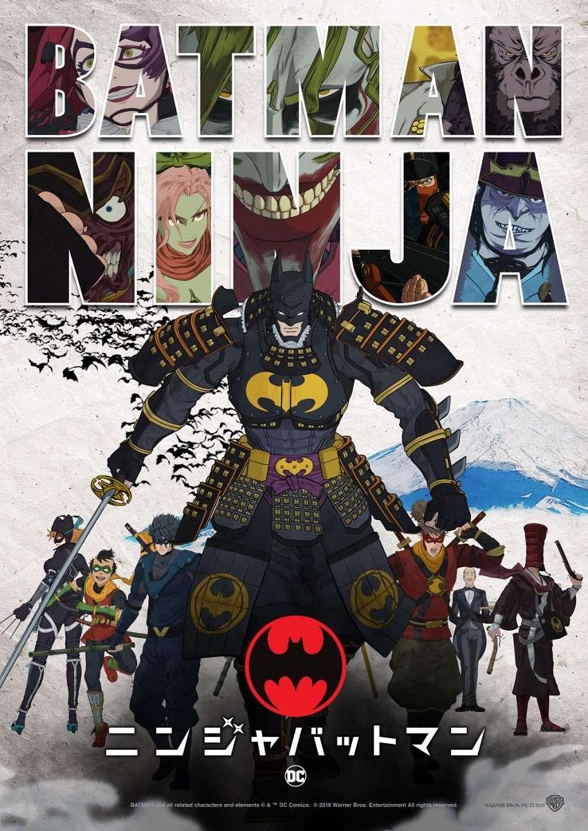Batman Ninja kapak