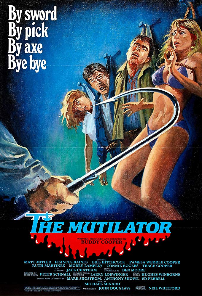 The Mutilator kapak