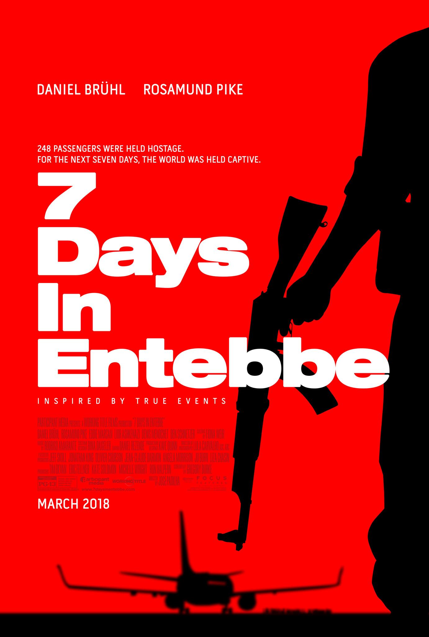 7 Days in Entebbe kapak