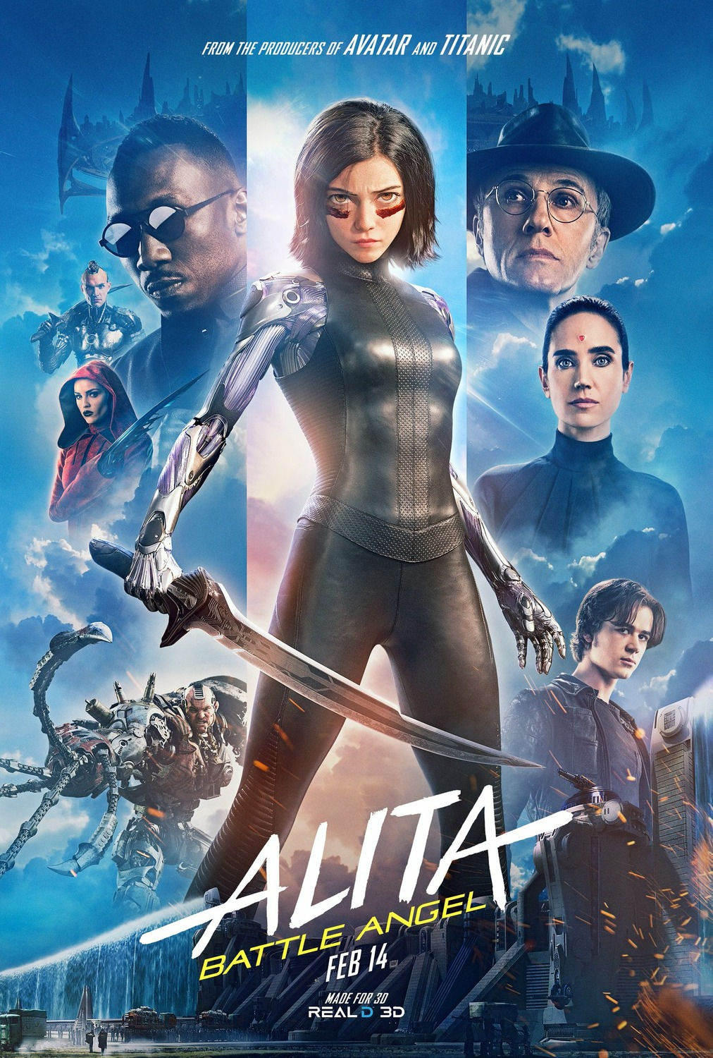 Alita: Battle Angel kapak