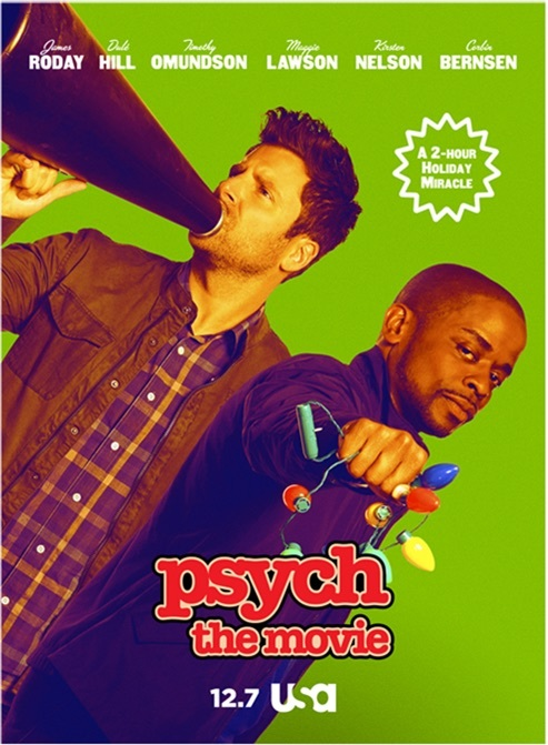Psych: The Movie kapak
