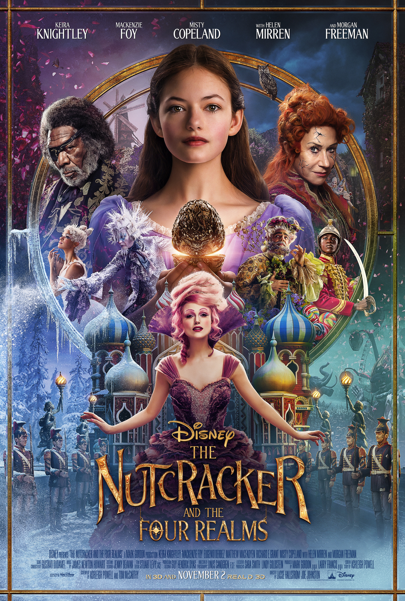 The Nutcracker and the Four Realms kapak