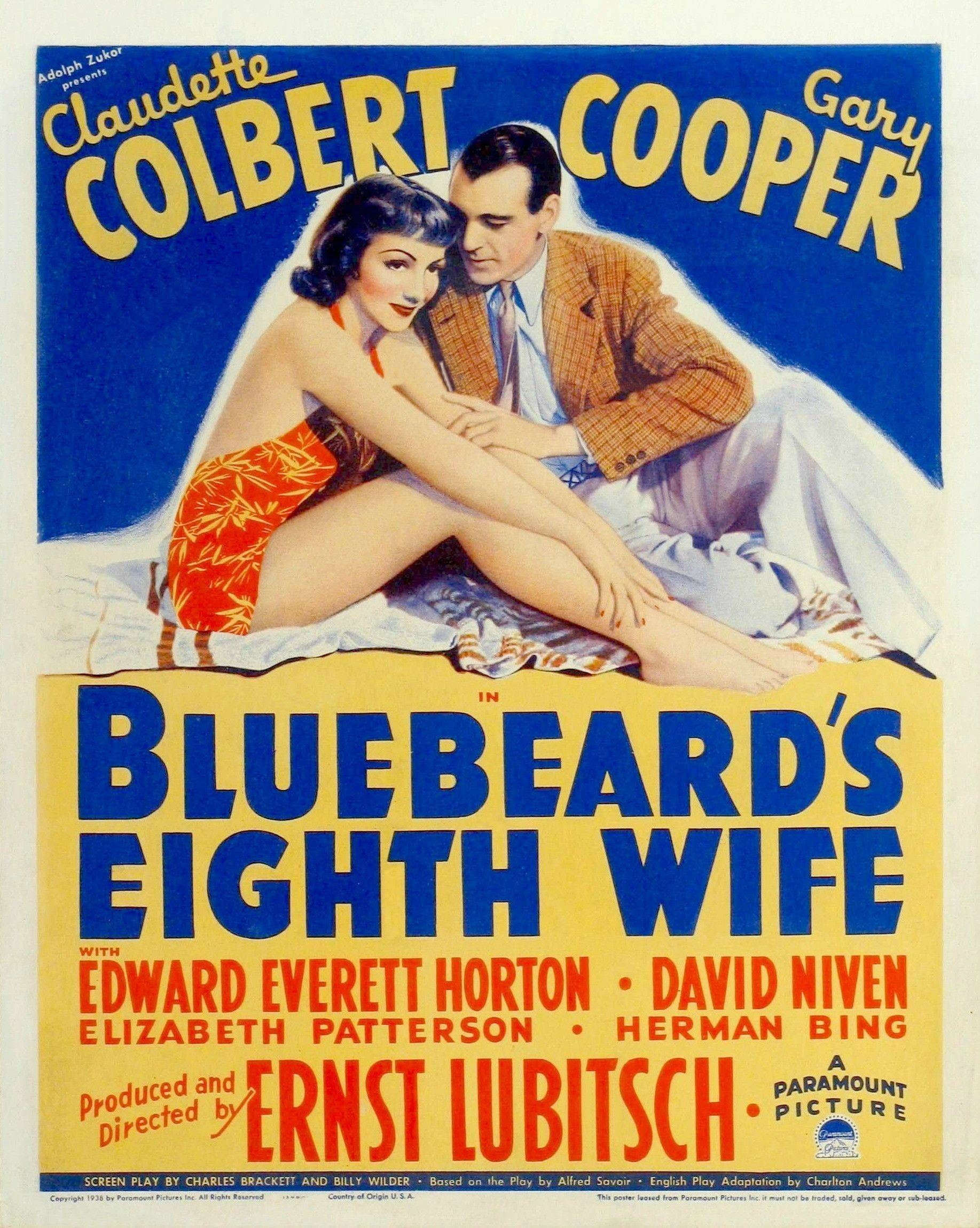 Bluebeard's Eighth Wife kapak
