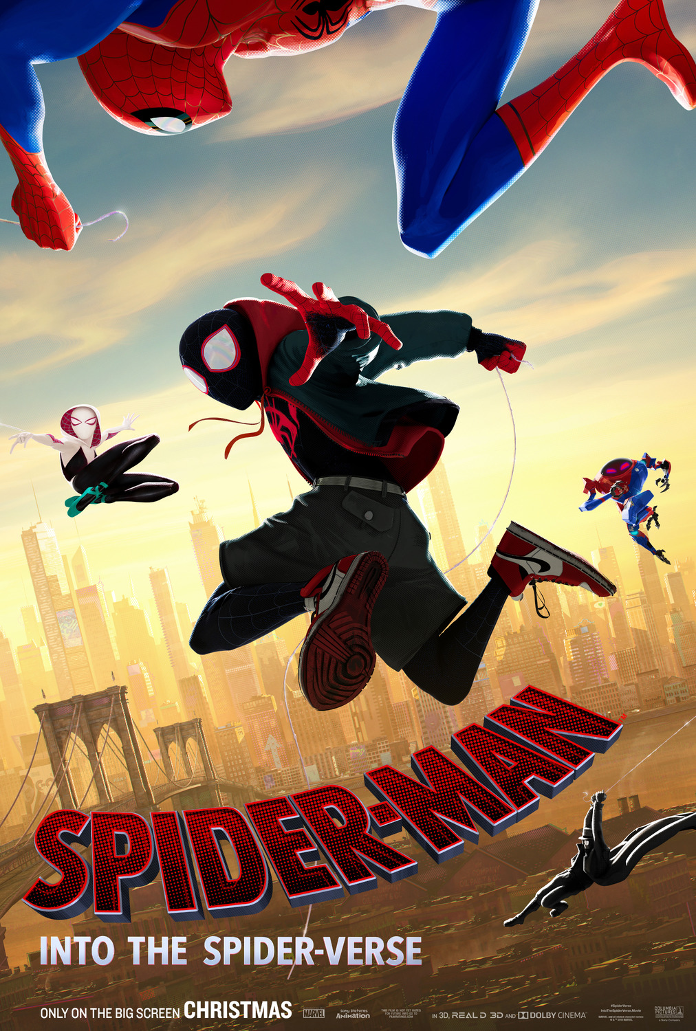 Spider-Man: Into the Spider-Verse kapak