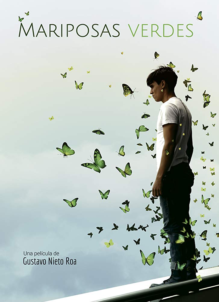 Green Butterflies kapak
