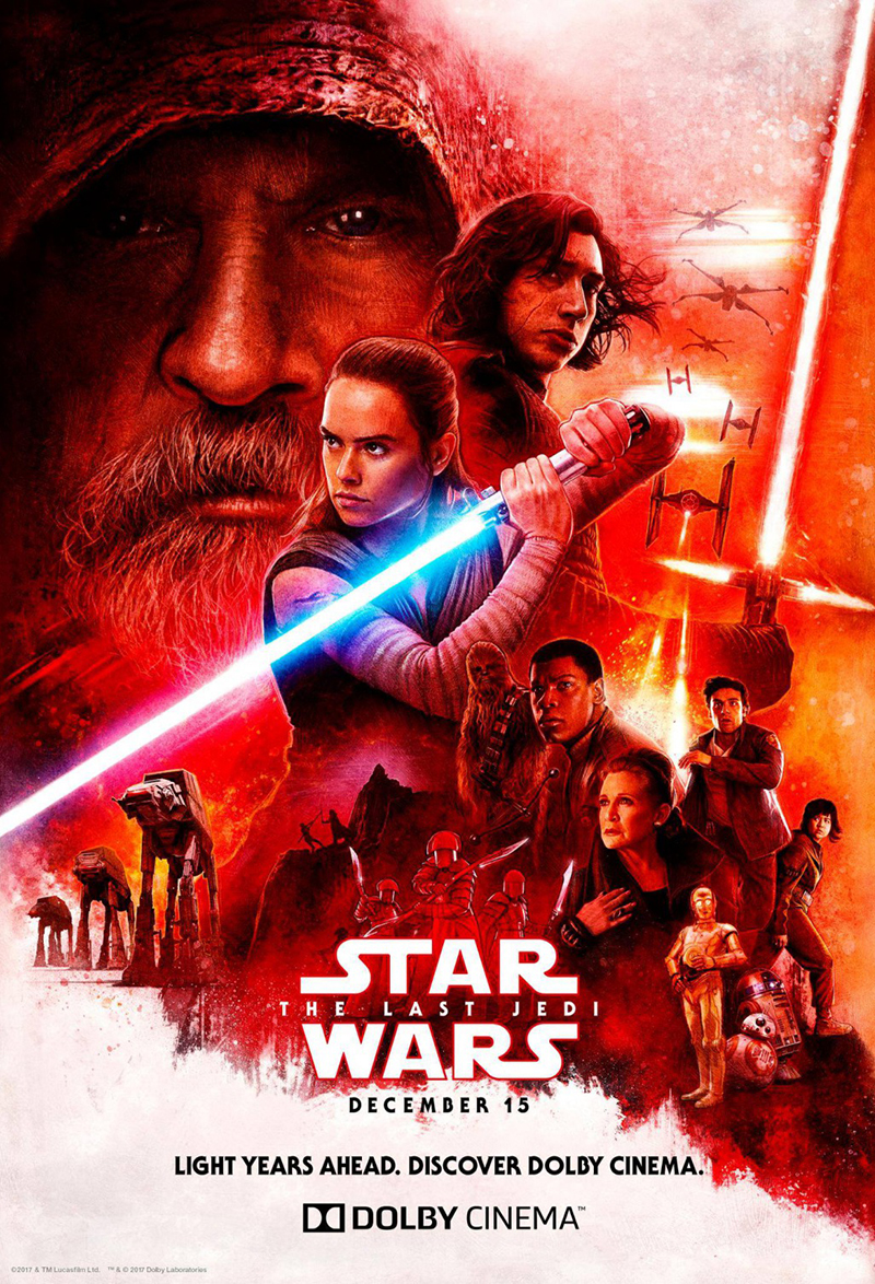 Star Wars: The Last Jedi kapak
