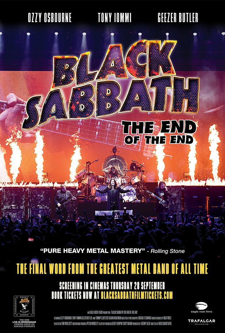 Black Sabbath the End of the End kapak