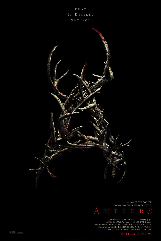 Antlers kapak