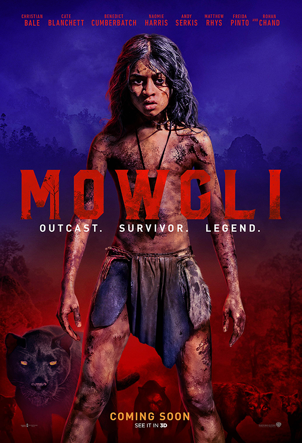Mowgli: Legend of the Jungle kapak