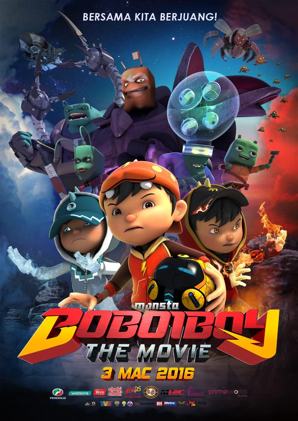 BoBoiBoy: The Movie kapak