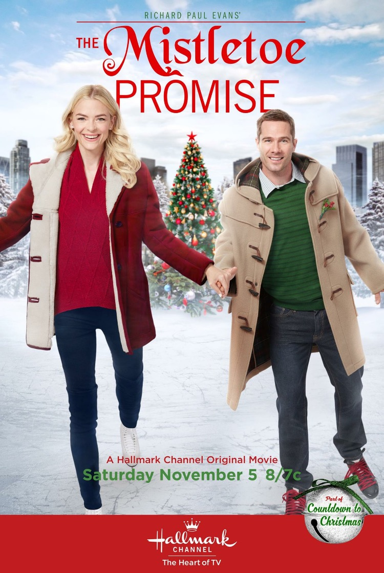The Mistletoe Promise kapak