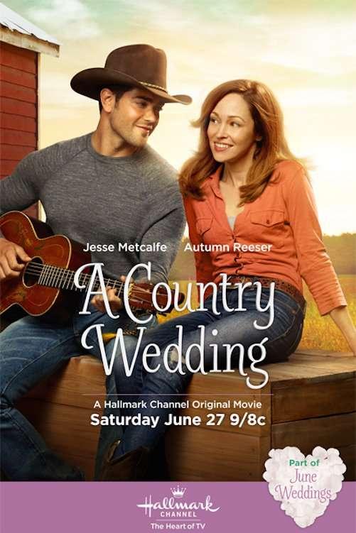 A Country Wedding kapak