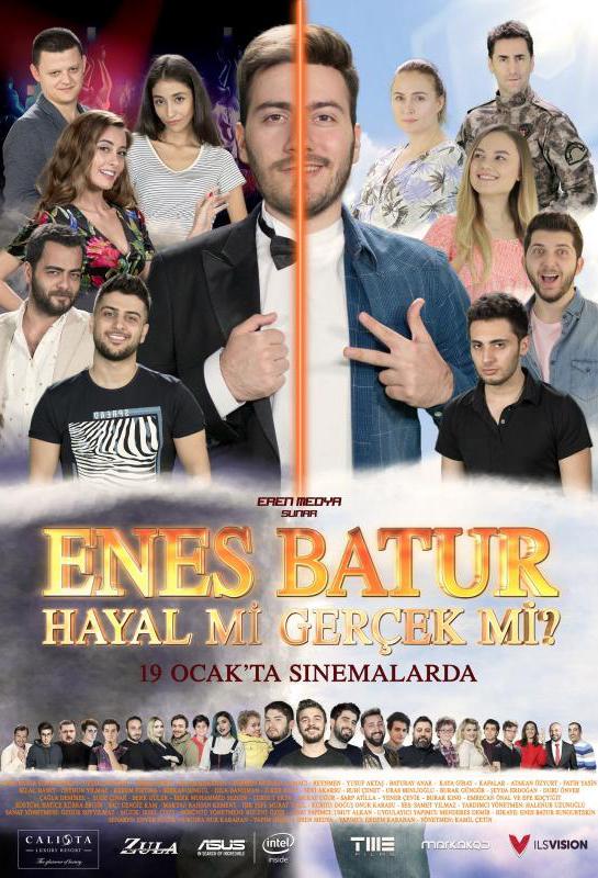Enes Batur Hayal mi Gerçek mi? kapak