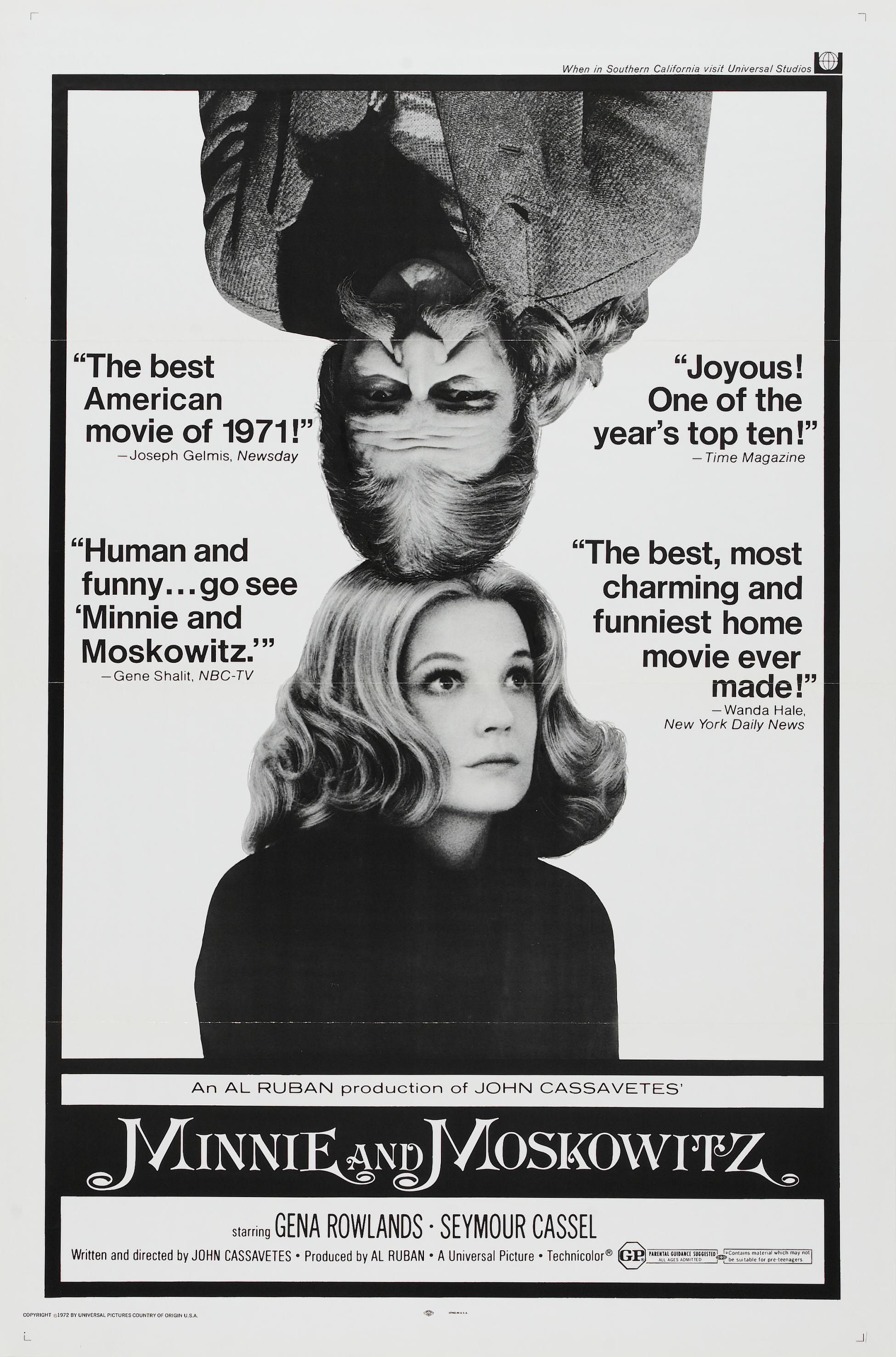Minnie and Moskowitz kapak