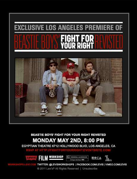 Beastie Boys: Fight for Your Right Revisited kapak