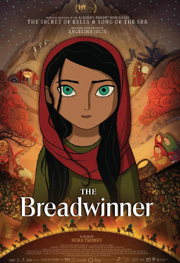 The Breadwinner kapak