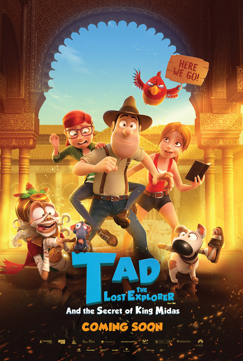 Tad the Lost Explorer and the Secret of King Midas kapak
