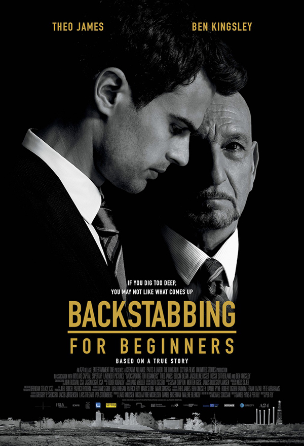 Backstabbing for Beginners kapak