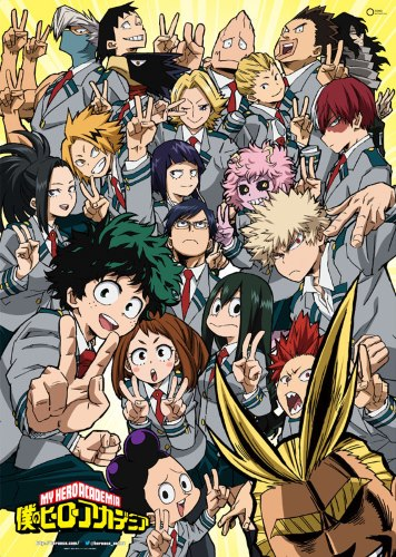 My Hero Academia kapak