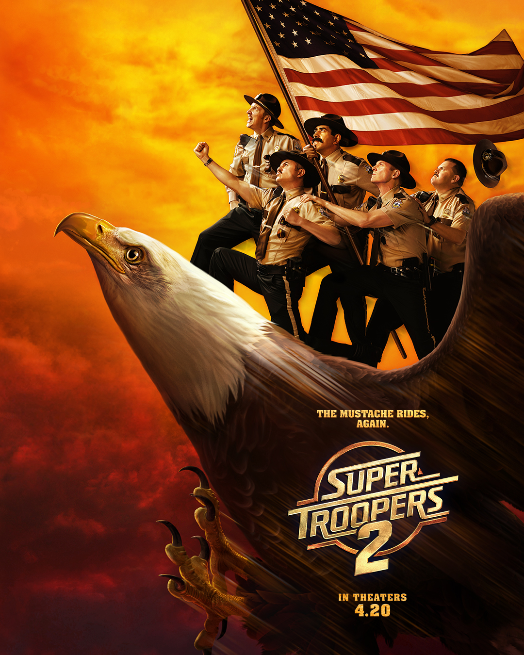 Super Troopers 2 kapak