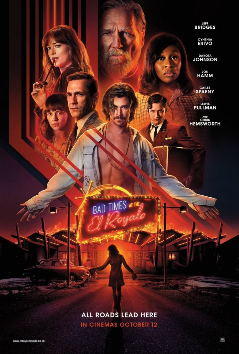 Bad Times at the El Royale kapak