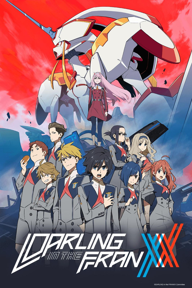 DARLING in the FRANXX kapak