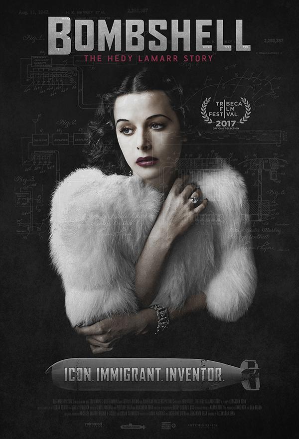 Bombshell: The Hedy Lamarr Story kapak