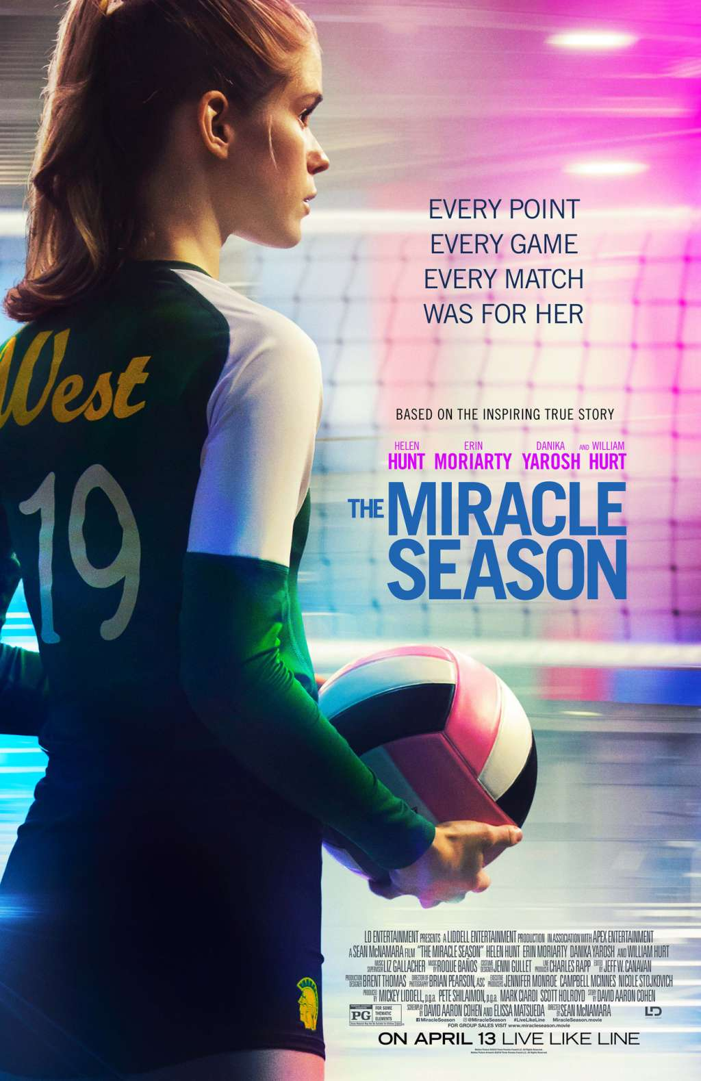 The Miracle Season kapak