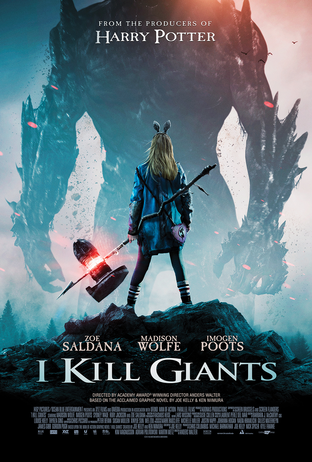 I Kill Giants kapak
