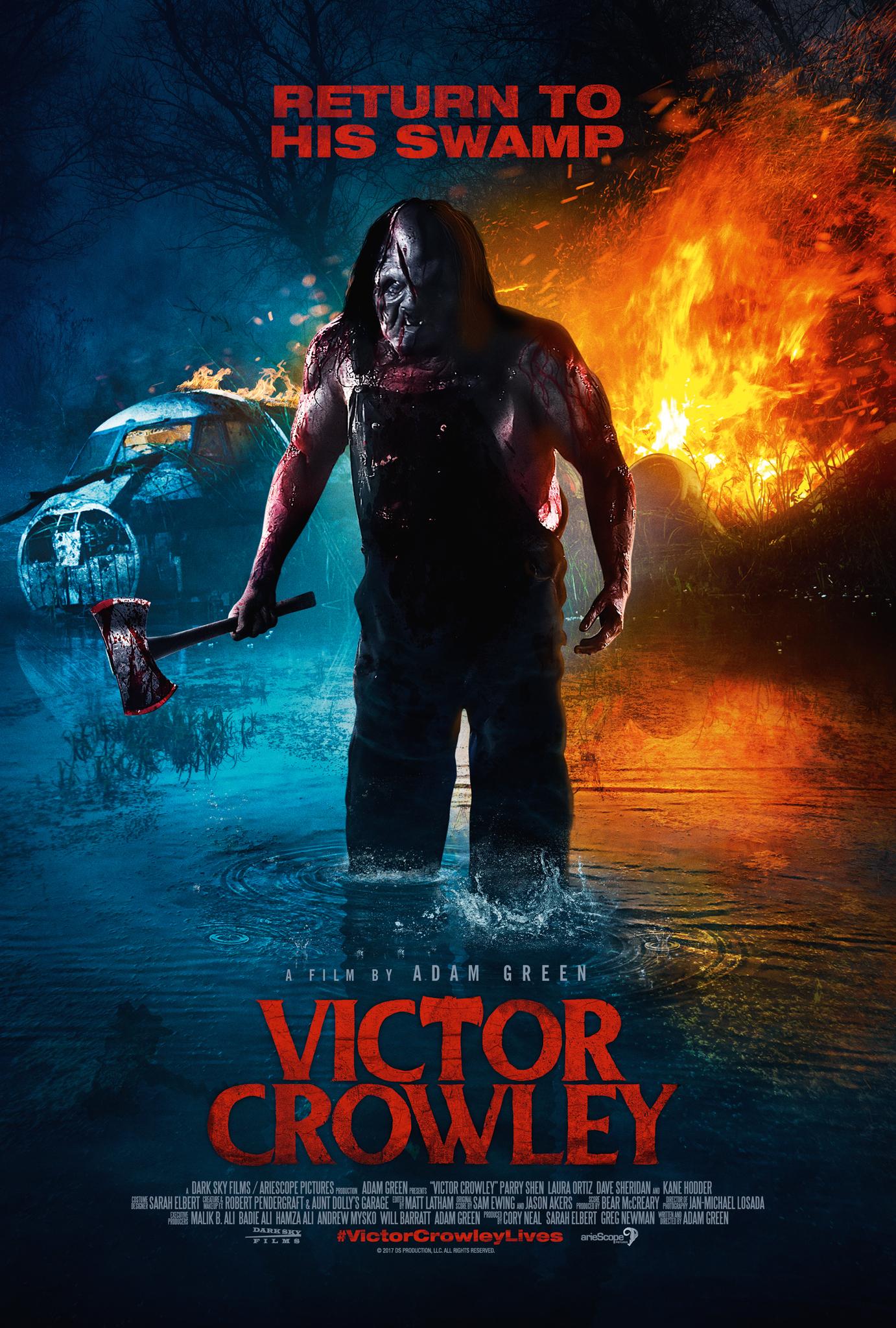 Victor Crowley kapak