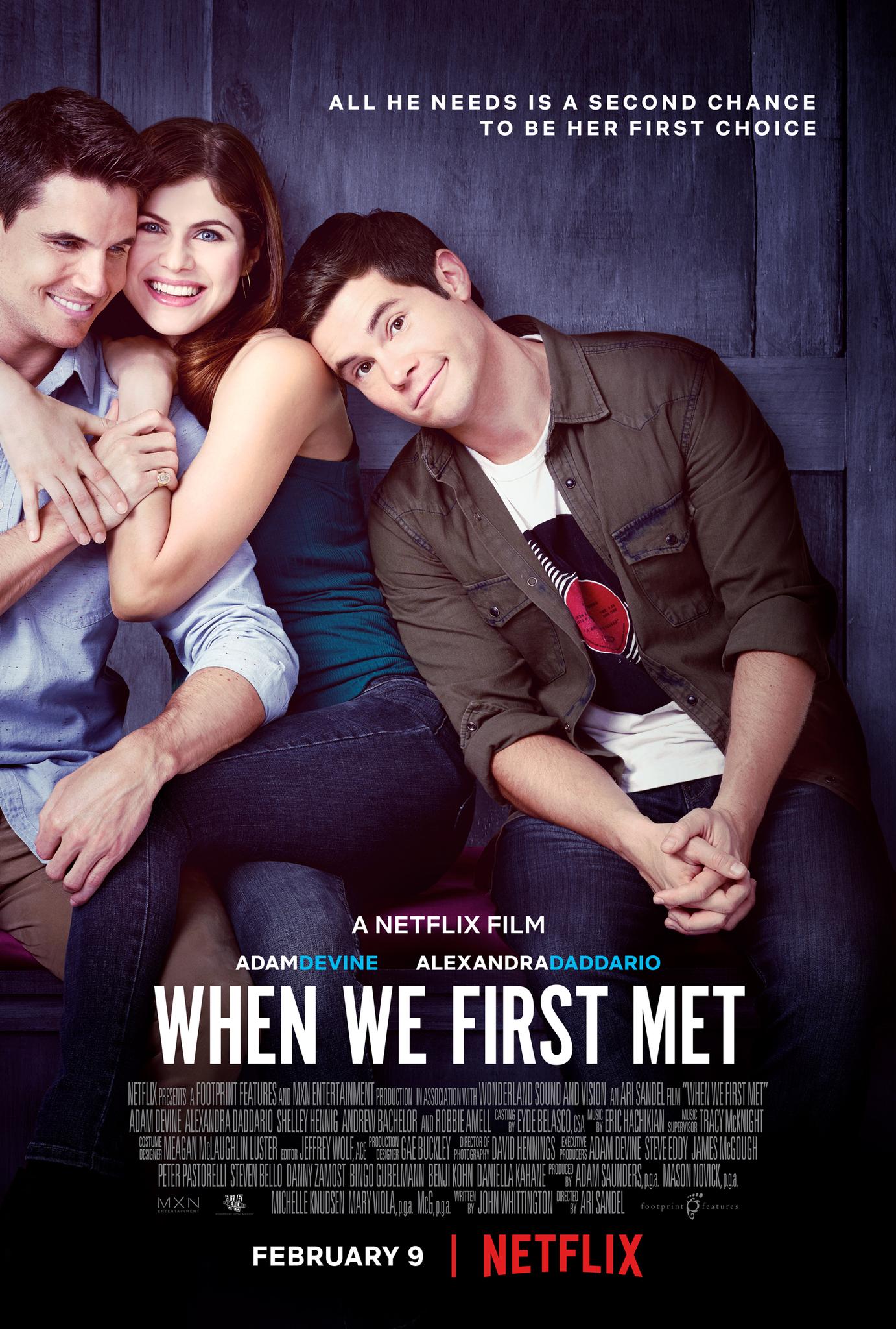 When We First Met kapak