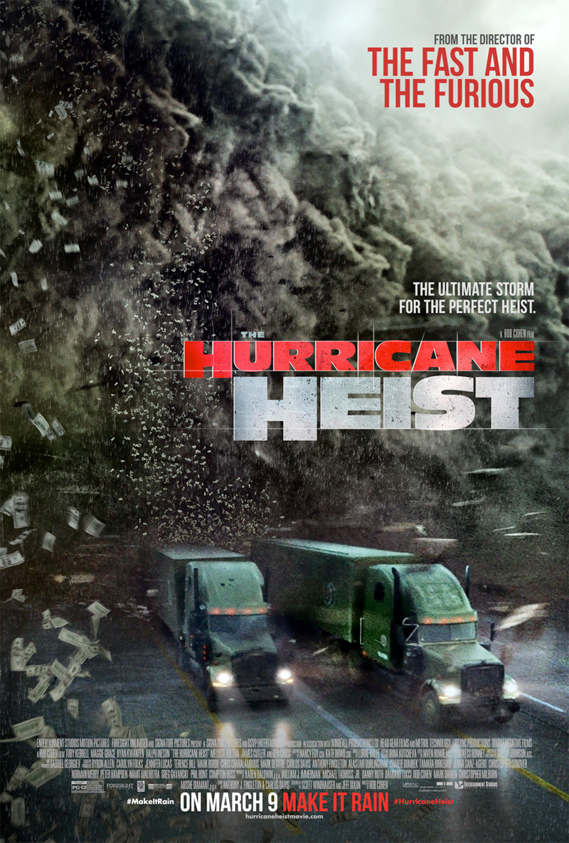 The Hurricane Heist kapak