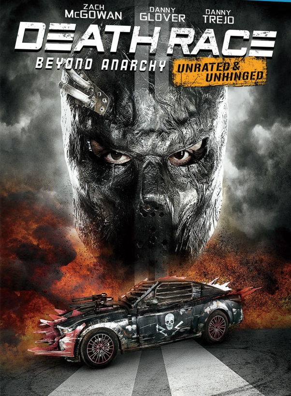 Death Race 4: Beyond Anarchy kapak