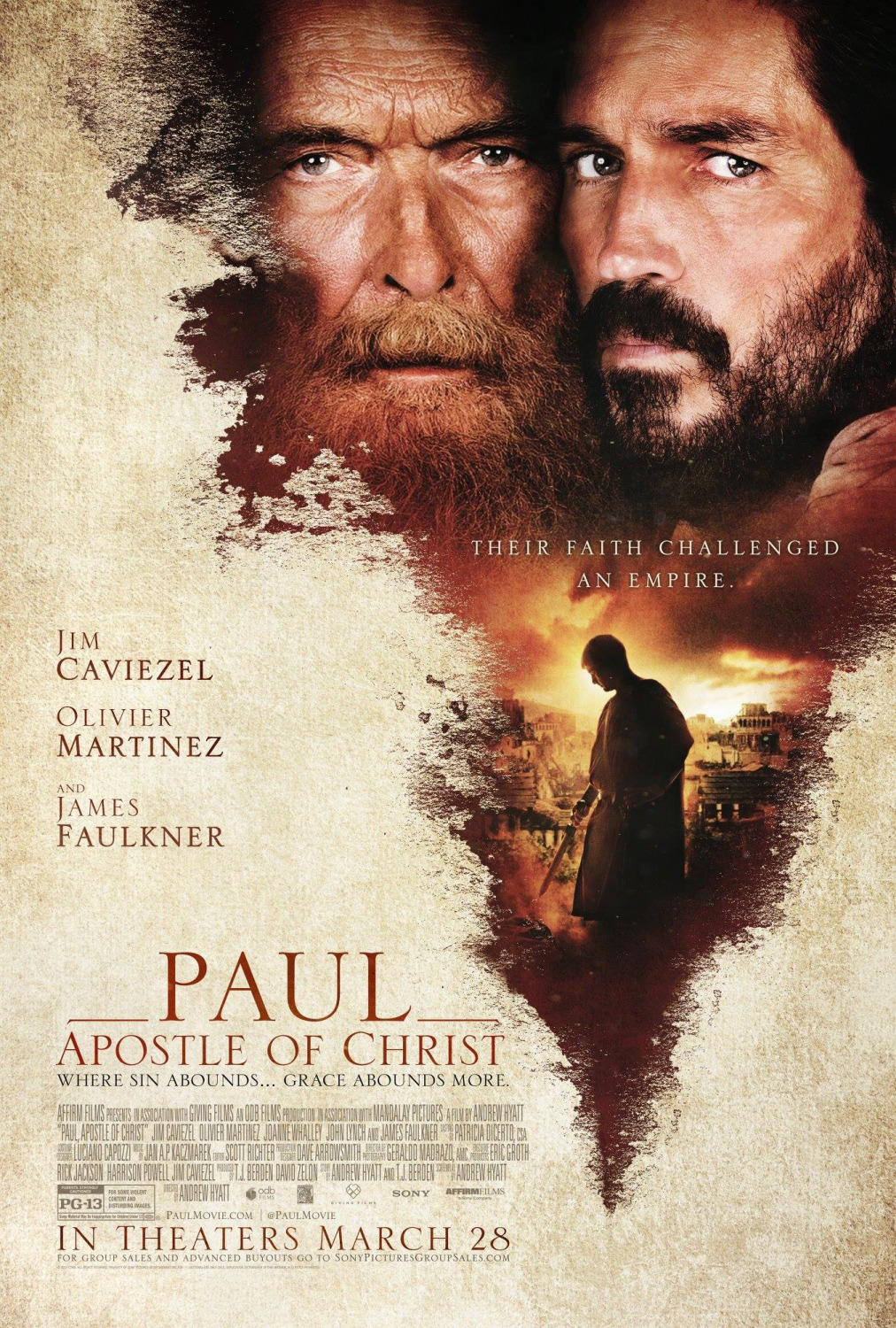 Paul, Apostle of Christ kapak
