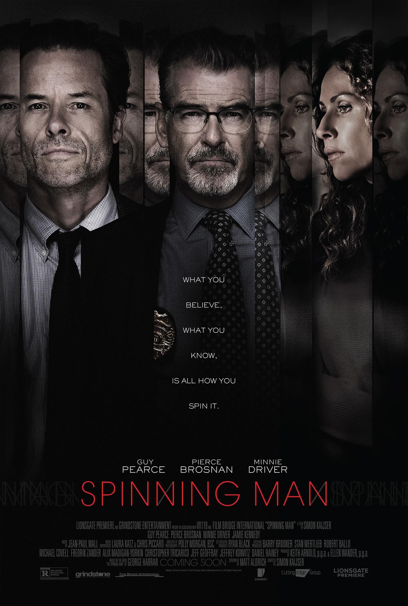 Spinning Man kapak