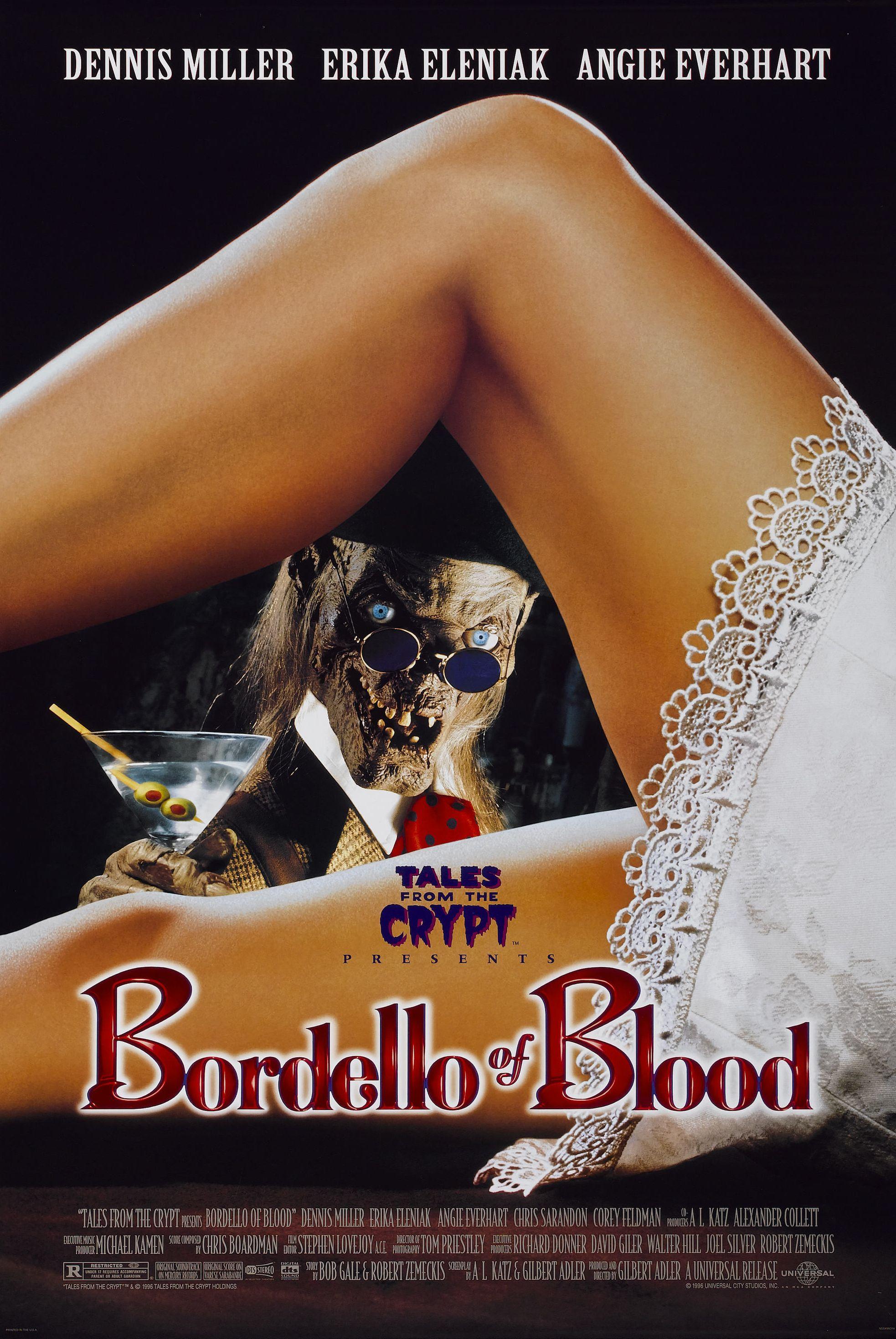 Bordello of Blood kapak