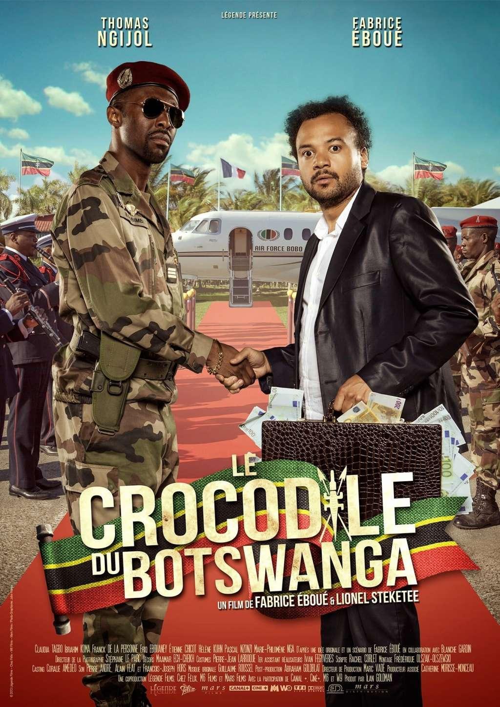 Le crocodile du Botswanga kapak