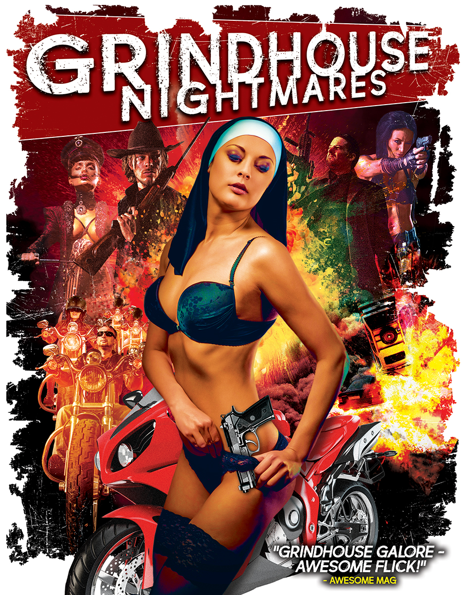 Grindhouse Nightmares kapak