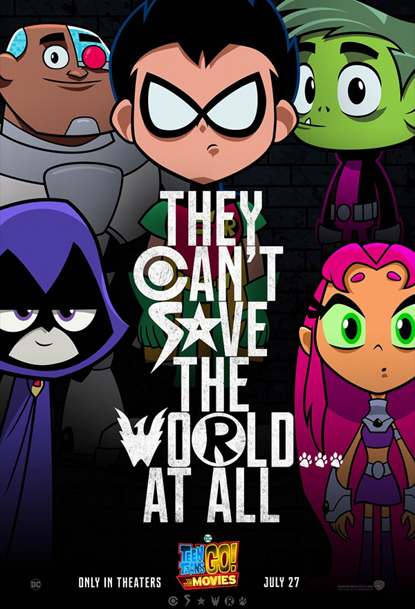 Teen Titans Go! To the Movies kapak