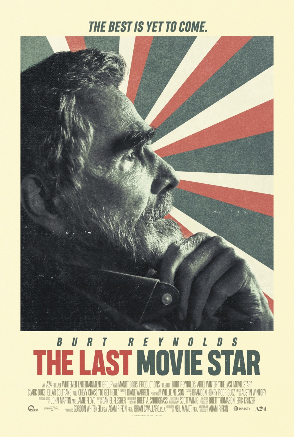 The Last Movie Star kapak