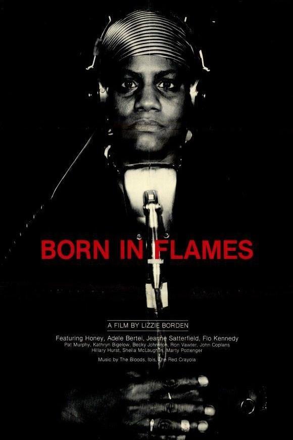 Born in Flames kapak