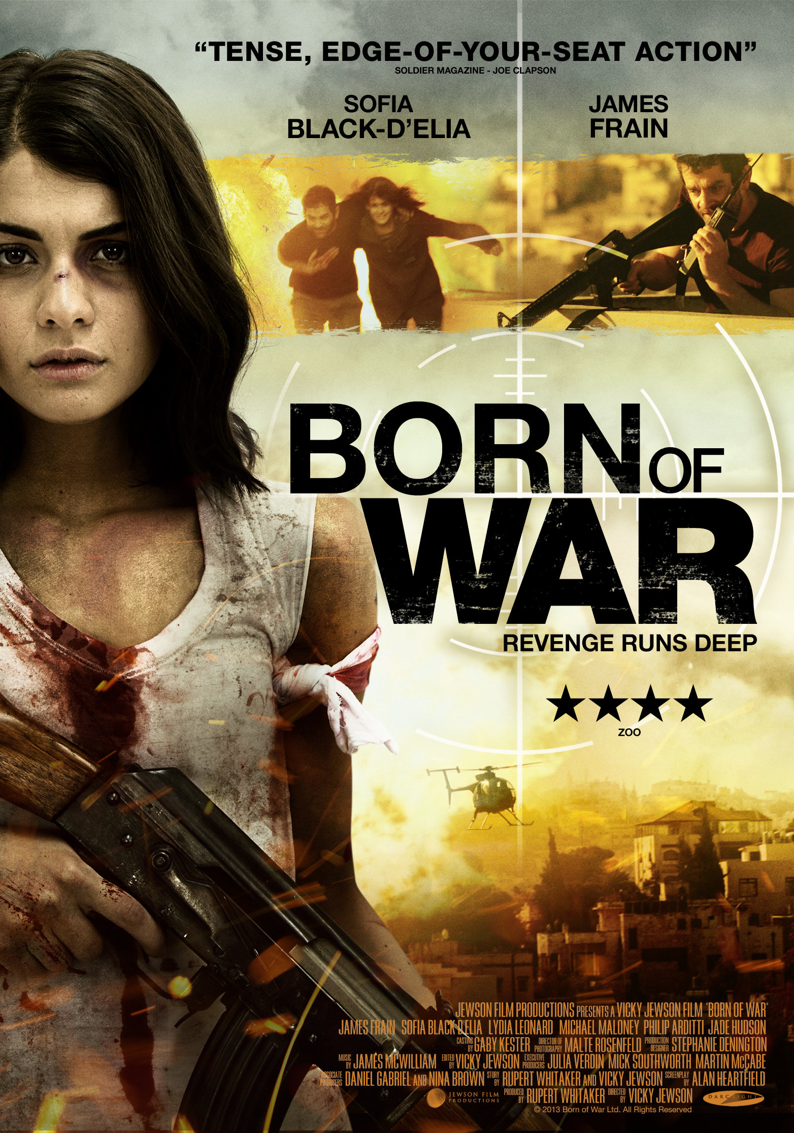 Born of War kapak