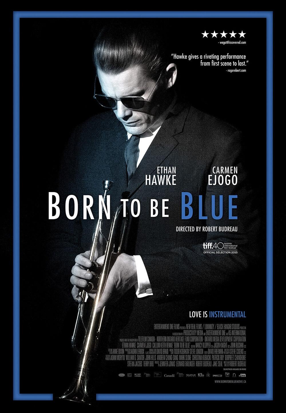 Born to Be Blue kapak