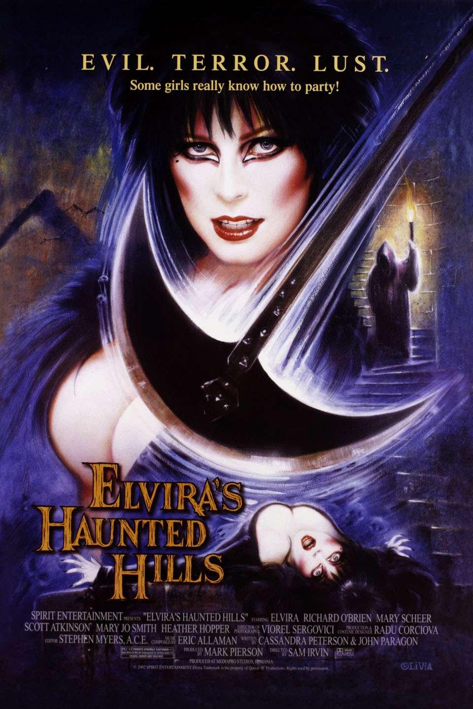 Elvira's Haunted Hills kapak