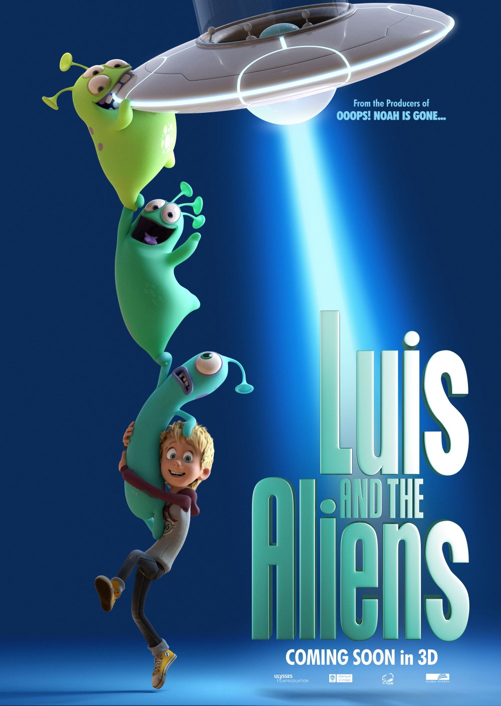 Luis & the Aliens kapak