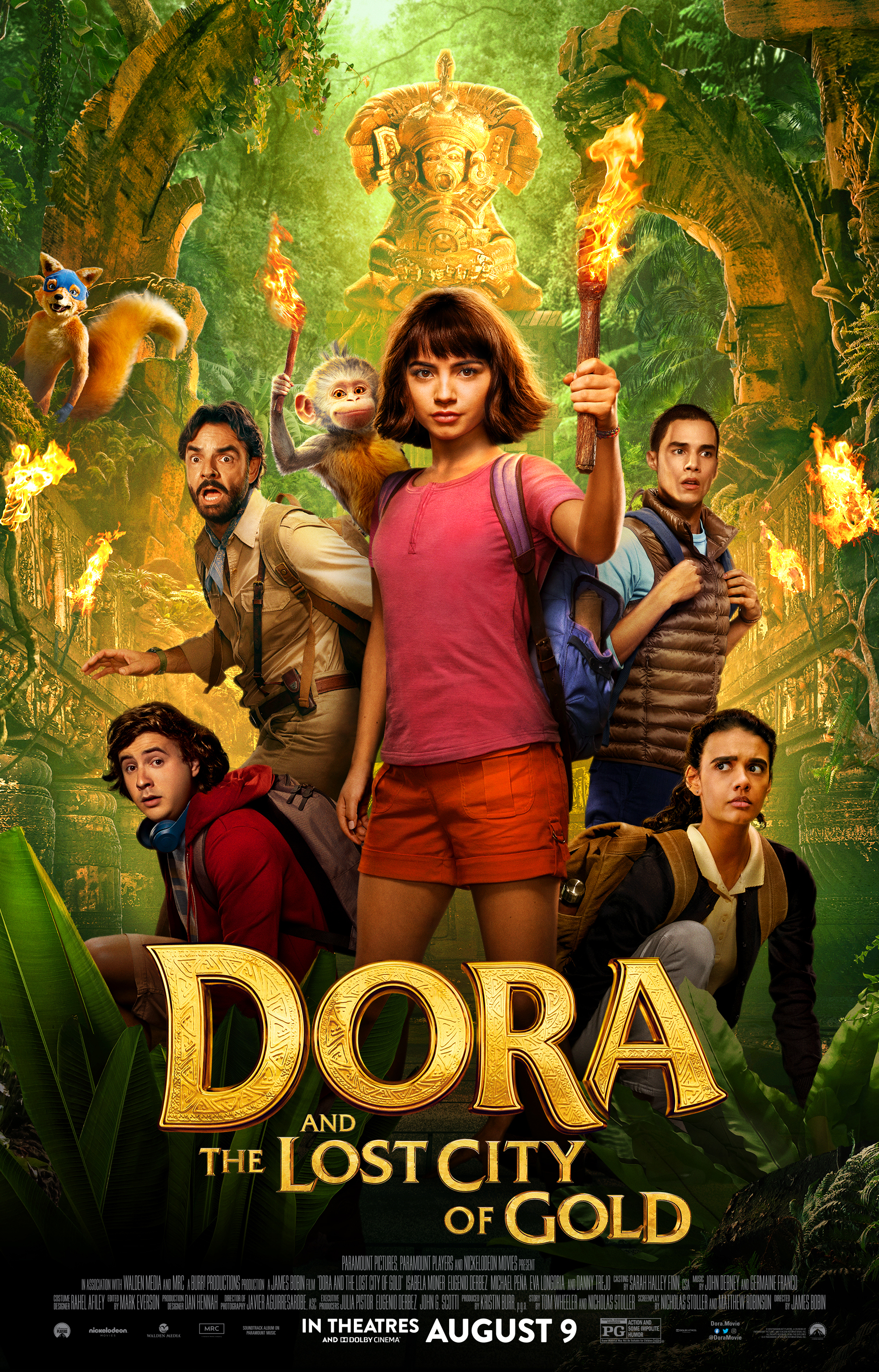 Dora and the Lost City of Gold kapak
